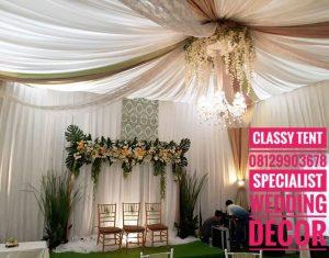 dekorasi lamaran model baru classy tent - classy tent