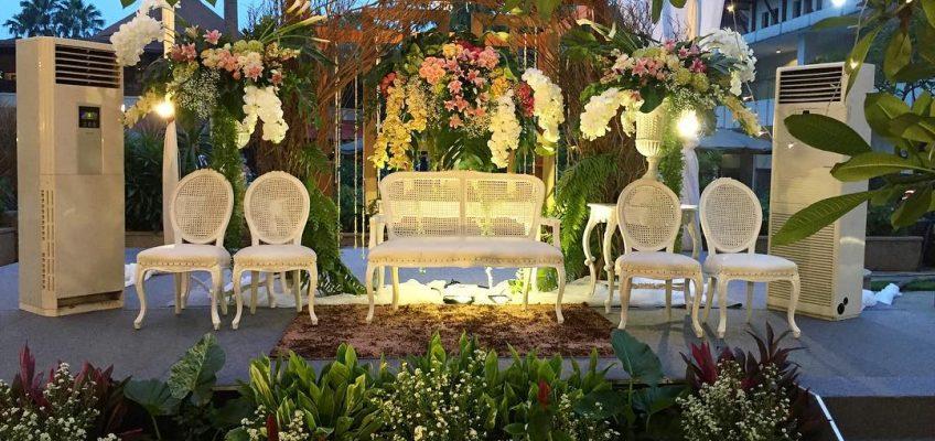 Contoh dekorasi pernikahan model baru