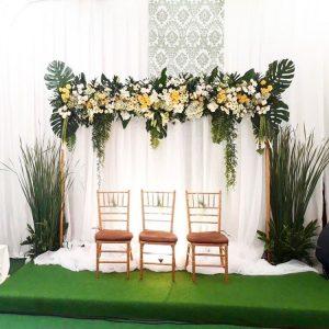 Memilih dekorasi pernikahan