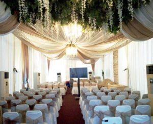 Wedding party decor