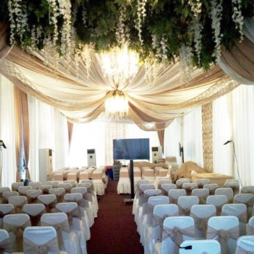 Wedding party decor by Classy Tent Decoration