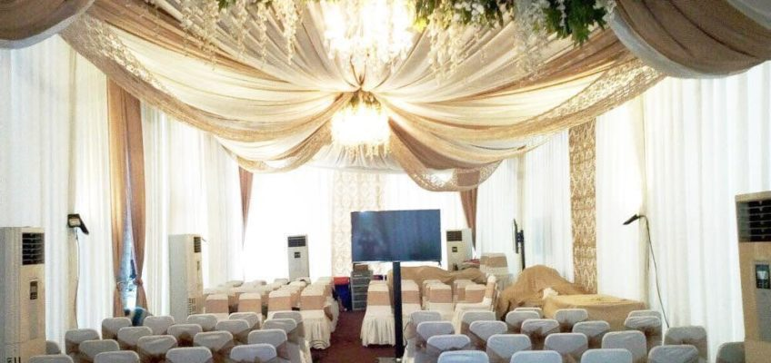 The newest wedding party decor by Classy Tent