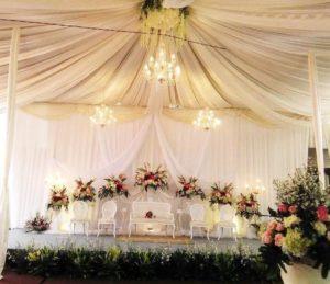 Harga sewa tenda dekorasi VIP