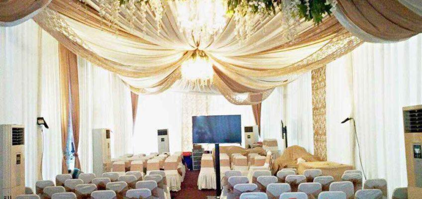 Harga sewa tenda dekorasi VIP terbaru