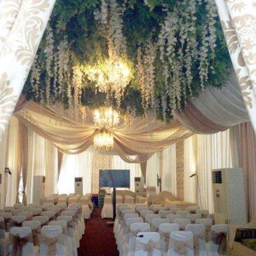 Paket dekorasi pernikahan tahun 2019 Classy Tent