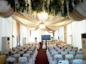 harga paket dekorasi pernikahan dan lamaran - classy tent