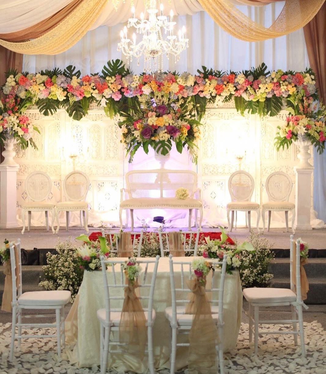 Dekorasi Pernikahan Di Rumah Bertemakan Minimalis Classy Tent