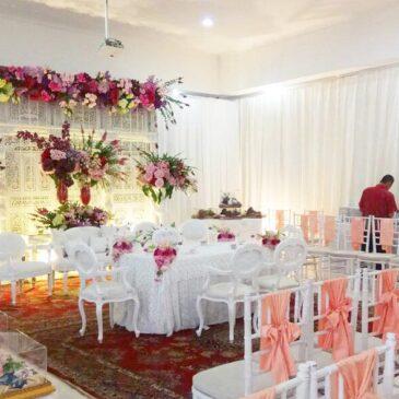 cantik dekor tunangan di rumah - beauty glamorous